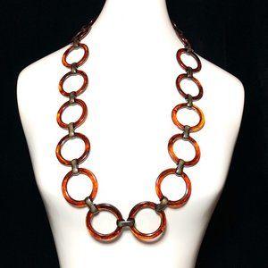 Vintage 60s YSL Link Bakelite Belt Necklace